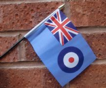 HAND WAVING FLAG (SMALL) - RAF Ensign